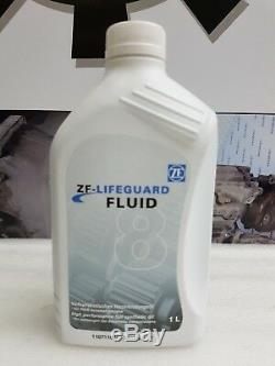 Genuine jaguar xe zf 8hP45 automatic transmission gearbox pan sump filter 7L oil
