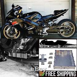 Grudge Drag Bike Low Profile Billet Oil Pan & Pickup Gsxr 1000 Gsxr1000 01-08