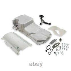 Holley 302-20 Chevy LT Swap Retro-Fit Rear Sump Aluminum Oil Pan & Pickup Tube