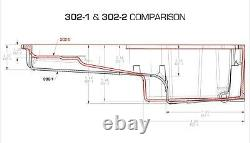 Holley 302-2 Chevy LS Swap Retro-Fit Rear Sump Aluminum Oil Pan & Pickup Tube