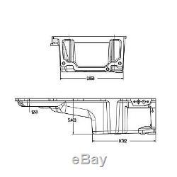 Holley 302-2 Chevy LS Swap Retro-fit Rear Sump Aluminum Oil Pan