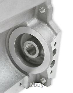 Holley 302-3 Chevy LS Swap Retro-Fit Rear Sump Aluminum Oil Pan & Pickup Tube
