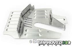 Improved Racing Trap Door Oil Pan Baffle for C6 Corvette Z06 / Z51 Dry Sump