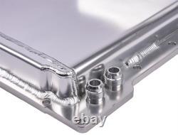 JEGS 50257 Street & Strip Engine Swap Oil Pan GM LS Series Front Sump Design Fab