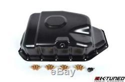 K-Tuned Steel Oil Pan Sump K20 K24 K-Series EP3 Civic Type-R Accord CL9 K-Swap