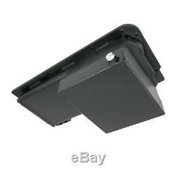 LSX Aluminum 7-Quart Front Sump Oil Pan LS1 LS2 LS3 LS6 BLACK 4.8 5.3 5.7 6.0