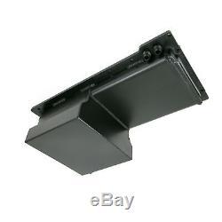 LSX Fabricated Aluminum 7-Quart Front Sump Oil Pan LS1 LS2 LS3 LS6 BLACK