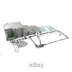 LS Aluminum Rear Sump Low-Profile Retro-Fit Oil Pan Swap GM LS LS1 LS2 LS6