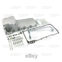 LS Aluminum Rear Sump Retro-Fit Oil Pan Satin
