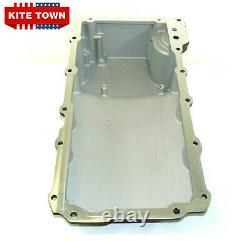 LS SWAP Aluminum Rear Sump Retro-Fit Oil Pan For GM BLACK Camaro Nova Chevelle