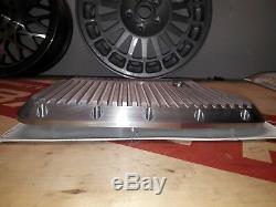 Lancia Delta Integrale und Evo Deckel Ölwanne Oil Pan Cover Aluminium Kühlrippen