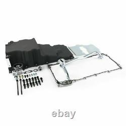 Low-Profile Retro-Fit LSX Aluminum Rear Sump Oil Pan, Aluminum, Black
