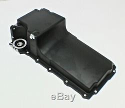 Ls Retro Fit Oil Pan Sump For Engine Swap Black Alloy Ls1 Ls2 Ls6 Gen 3 Gen 4
