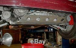 Maserati Biturbo OIL PAN GUARD Aluminum sump protection shield New