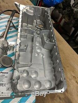 Mercedes Om648 Rear Bowl Oil Pan, Pump, Dipstick Tube & More For Om606 Diesel