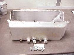 Moroso Dry Sump Oil Pan SB Chevy with 3 pickups Standard Block GM Block J2