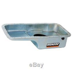 Moroso Engine Oil Pan 20911 Wet Sump 4 Quarts Clear Zinc for Honda B16A3/B18
