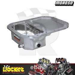 Moroso Fabricated Aluminium Front Sump Oil Pan Fits Mazda 13B MO20942