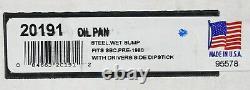 Moroso Street Strip Steel Wet Sump SBC Small Block Chevy Oil Pan 20191 Pre-1980