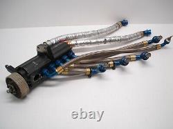 Nascar Auto Verdi 6 Stage Dry Sump Oil Pump Pan Lines Teflon Coated Rotor Style