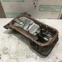 Nissan SR20DET Upper & Lower Oil Pan with Baffle Plate S13 S14 S15 SR20 SR Sump