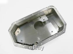 OBX Racing 6.5 Quart Aluminum Oil Pan For Acura Honda K20 K24 Series Engine