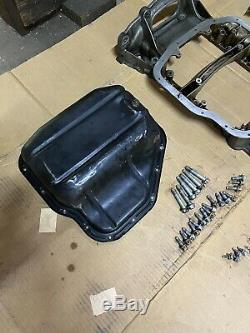 Oem Toyota Lexus Sc300 Rear Sump Oil Pan Kit 2jz 1jz Supra