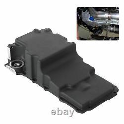 Oil Pan Rear Sump LS SWAP Alu Shell Pickup Tube 81075BK Car Modification Black