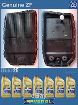 Oil filter sump pan, gearbox filtre, GENUINE ZF, 24152333903, + ravenol oil 7L