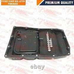 Porsche Panamera Automatic Tranmission Gearbox Sump Pan Seal Filter 7l Oil Kit
