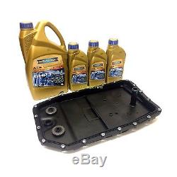 Range Rover L322 Zf Automatic 6 Speed Gearbox Sump Pan Filter & Ravenol Oil Kit