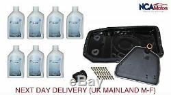 Range Rover Vogue L322 6HP26 Auto Gearbox Metal Sump Pan Filter and ZF Oil Kit
