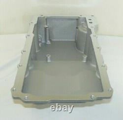 Retro-Fit LSX Rear Sump Oil Pan WithAdded Clearance, 64-72 GM A-Body Natural Alum