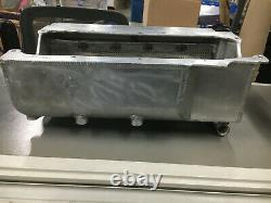 STEF'S OIL PAN Wet Sump for External Oil Pump Left Hand Starter Mount SBC USED