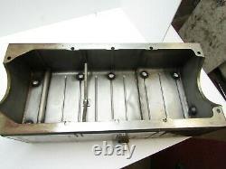 Stainless Steel Dry Sump Oil Pan Sb Chevy Sb2 Imca Ump Moroso Jgr #4