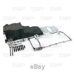 TSP 81073BK Low-Profile Retro-Fit LSX Aluminum Rear Sump Oil Pan, Aluminum