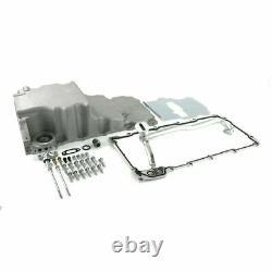 TSP 81073 Low-Profile Retro-Fit LSX Aluminum Rear Sump Oil Pan, Aluminum