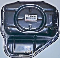Toyota 12102-46031 OEM Lower Oil Pan 2JZ-GTE Rear Sump MKIV Supra JZA80