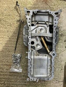 Toyota 2JZ 1JZ Rear Sump Oil Sump Pan Upper Lower Pickup 2JZGTE 1JZGTE drift