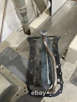 Toyota Lexus 1uz 1uzfe 2uz 3uz rear sump oil pan Pickup And Baffle