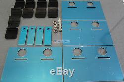 Universal Car Racing Drift Stainless Steel Sump Oil Pan Baffle Plate Bracket Kit