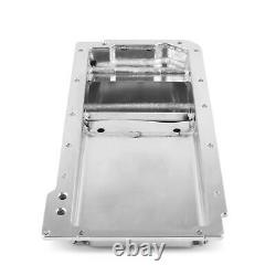 Weiand 5048WND Fabricated Oil Pan Kit LS1/2/6 Front Sump Polished